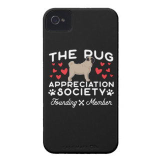 The Pug Appreciation Society Founding Member Case-Mate iPhone 4 Case