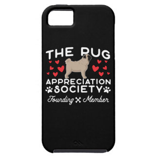 The Pug Appreciation Society Founding Member iPhone SE/5/5s Case