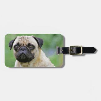 The Pug Dog Bag Tag