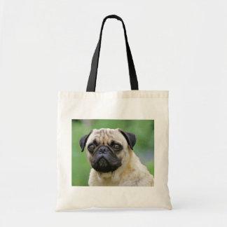 The Pug Dog Tote Bag