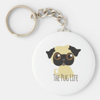 The Pug Life Key Chain