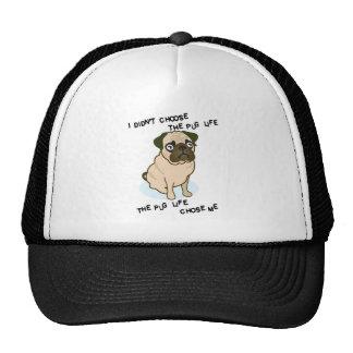 the Pug Life Trucker Hat