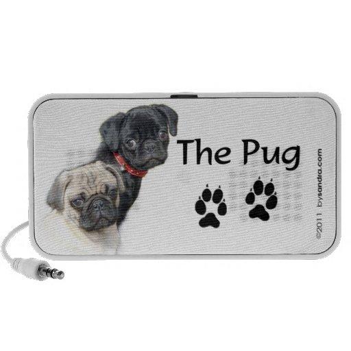 The Pug PC Speakers