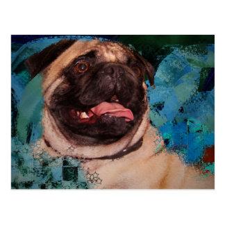 The Pug Postcard