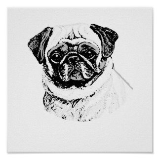 THE PUG POSTERS