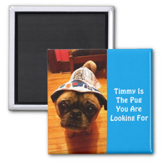 The Pug You Are Looking For 2 Inch Square Magnet