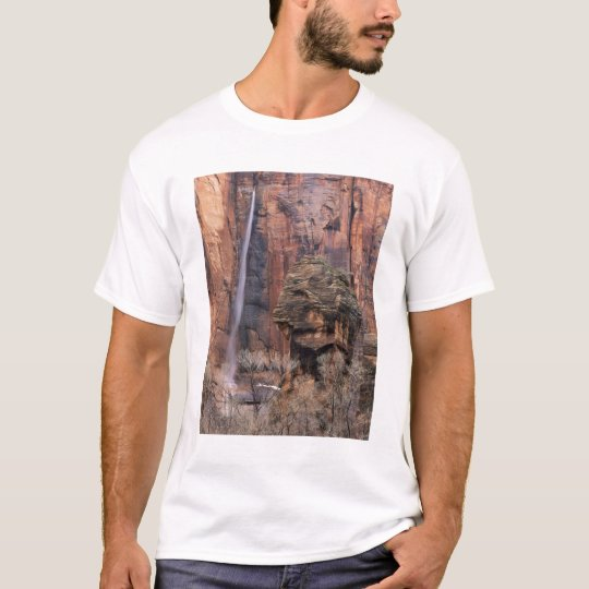The Pulpit and ephemeral waterfall 2 T-Shirt