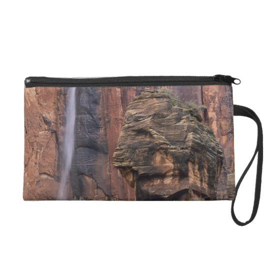 The Pulpit and ephemeral waterfall 2 Wristlet