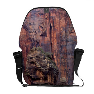 The Pulpit and ephemeral waterfall Courier Bag