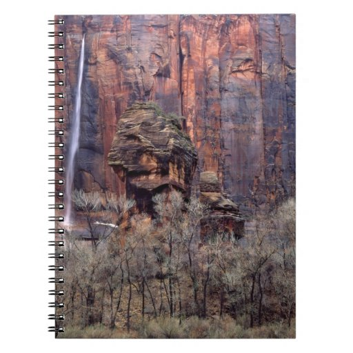 The Pulpit and ephemeral waterfall Spiral Note Book
