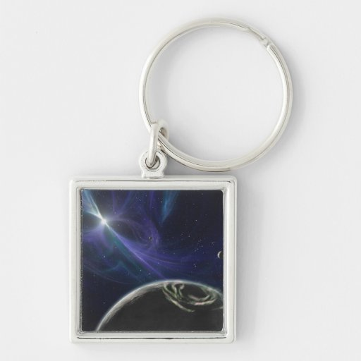 The pulsar planet system keychain