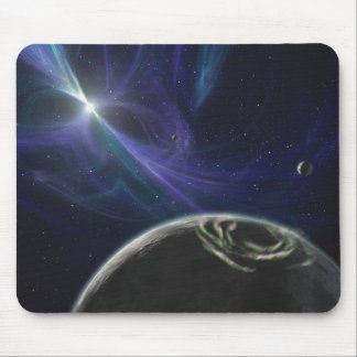 The pulsar planet system mouse pad