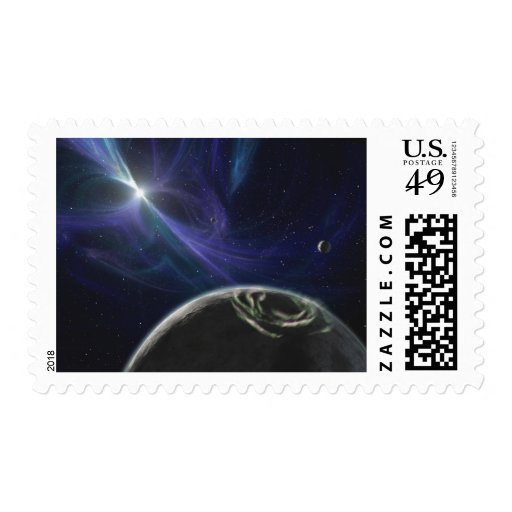 The pulsar planet system stamps