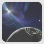 The pulsar planet system stickers