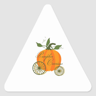 The Pumpkin Carriage Stickers