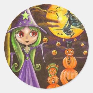 The Pumpkin Family Halloween Sticker