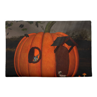 The pumpkin house travel accessory bag