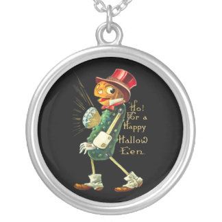 The Pumpkin Man Personalized Necklace