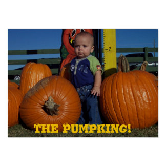 The PumpKING! Poster