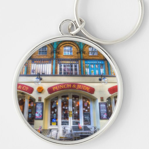 The Punch And Judy Pub Covent Garden Silver Colored Round
