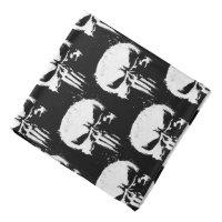 The Punisher | Painted Skull Logo Bandana