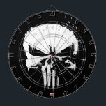 "The Punisher | Painted Skull Logo Dart Board<br><div class=""desc"">Check out this latest iteration of The Punisher"