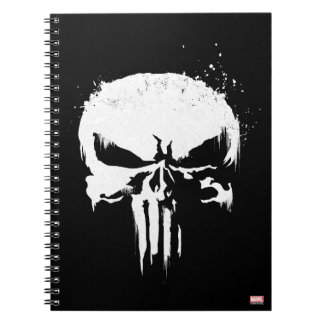 The Punisher | Painted Skull Logo Notebook