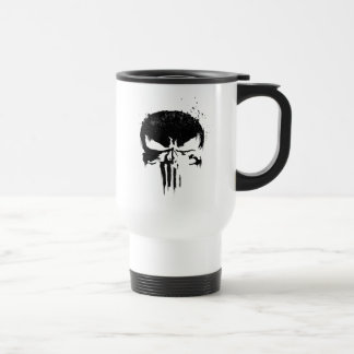 The Punisher | Painted Skull Logo Travel Mug