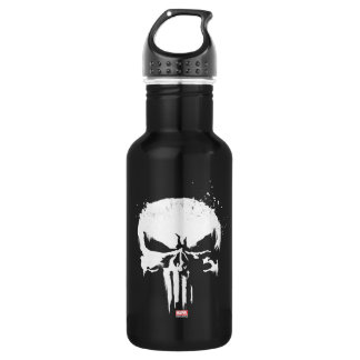 The Punisher | Painted Skull Logo Water Bottle