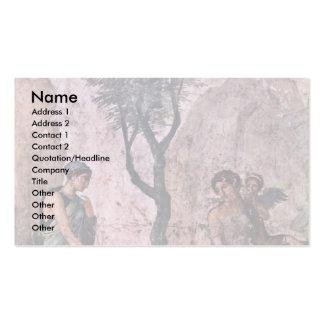 The Punishing Amor By Pompejanischer Maler Um 25 V Double-Sided Standard Business Cards (Pack Of 100)