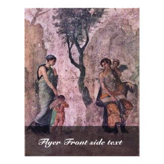 The Punishing Amor By Pompejanischer Maler Um 25 V Full Color Flyer