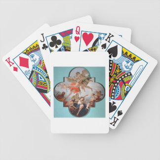The Punishment of Cupid (oil on canvas) Bicycle Playing Cards