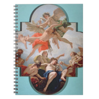 The Punishment of Cupid (oil on canvas) Notebook