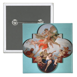 The Punishment of Cupid (oil on canvas) Pinback Button