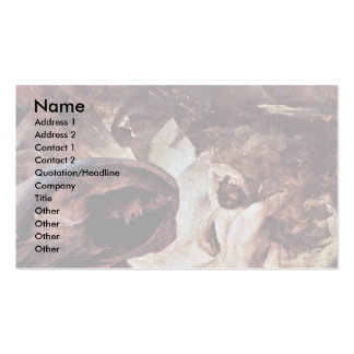 The Punishment Of Hell (The Doomsday) Detail Double-Sided Standard Business Cards (Pack Of 100)