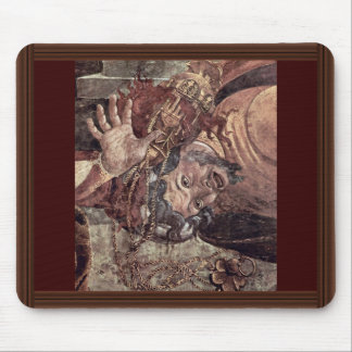 The Punishment Of Leviter By Botticelli Sandro Mouse Pads