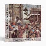 The Punishment Of Leviter Detail By Botticelli San Vinyl Binders