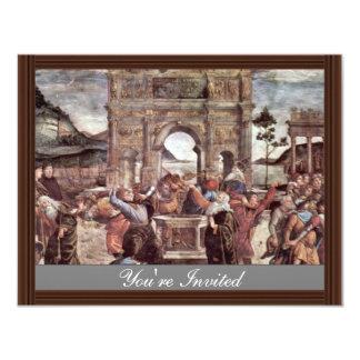 The Punishment Of Leviter Detail By Botticelli San Announcement