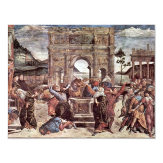The Punishment Of Leviter Detail By Botticelli San Personalized Invite