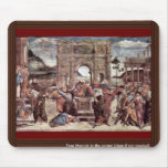 The Punishment Of Leviter Detail By Botticelli San Mouse Pads