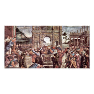 The Punishment Of Leviter Detail By Botticelli San Photo Cards