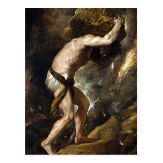 The Punishment of Sysiphus Post Cards