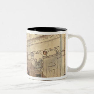 The Puppet Theatre Two-Tone Coffee Mug