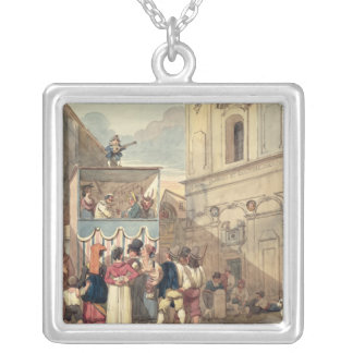 The Puppet Theatre Custom Necklace