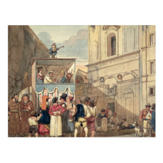 The Puppet Theatre Postcard