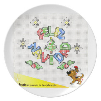 The Pups Melamine Plate