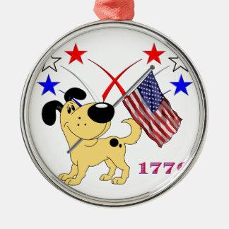 The Pups Metal Ornament