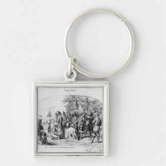 The Purchase of Manhattan Island, September 1626 Key Chain