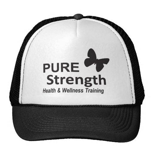 The Pure Strength Original Black Logo Hats