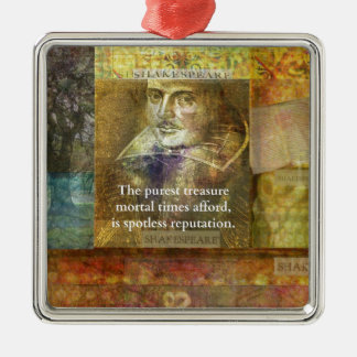 The purest treasure mortal times afford..... metal ornament
